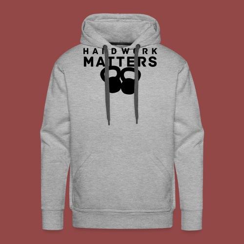 hardworkmatters - Mannen Premium hoodie