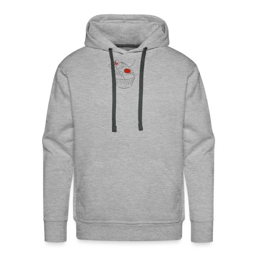 The Cake Is A Lie - Men's Premium Hoodie