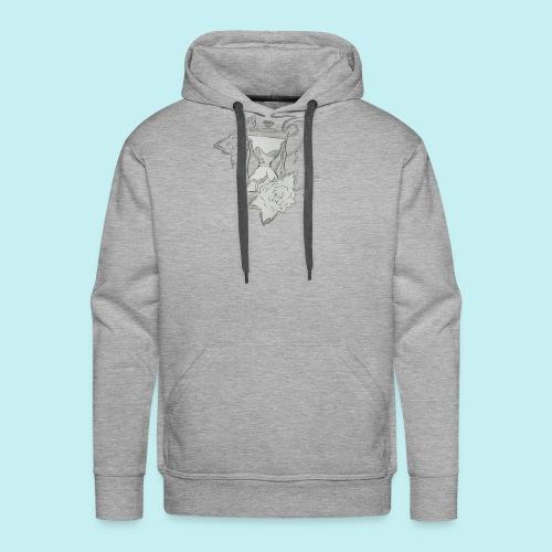 Le temps - Sweat-shirt à capuche Premium pour hommes