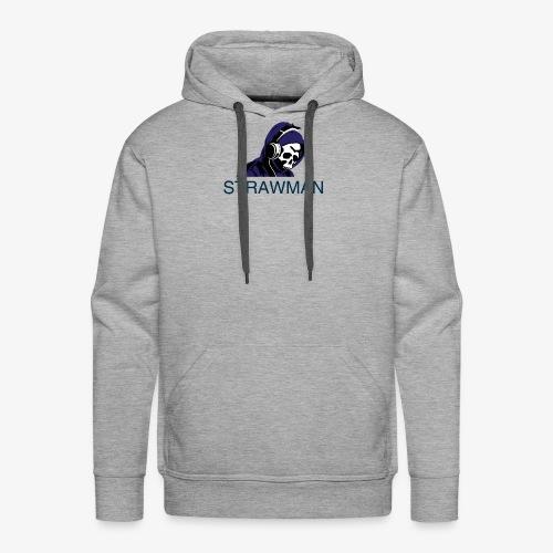 strawman logo - Men's Premium Hoodie