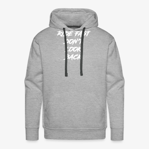 Roule Vite - Sweat-shirt à capuche Premium pour hommes
