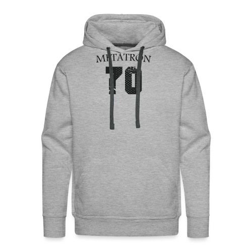 META FOOT 70 - Sweat-shirt à capuche Premium pour hommes