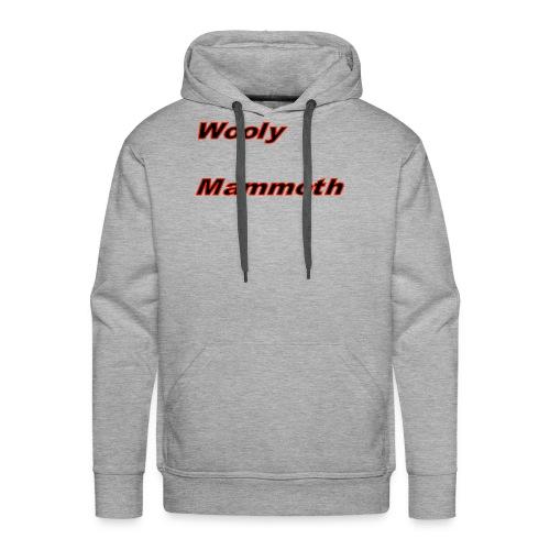 Wooly Mammoth - Men's Premium Hoodie