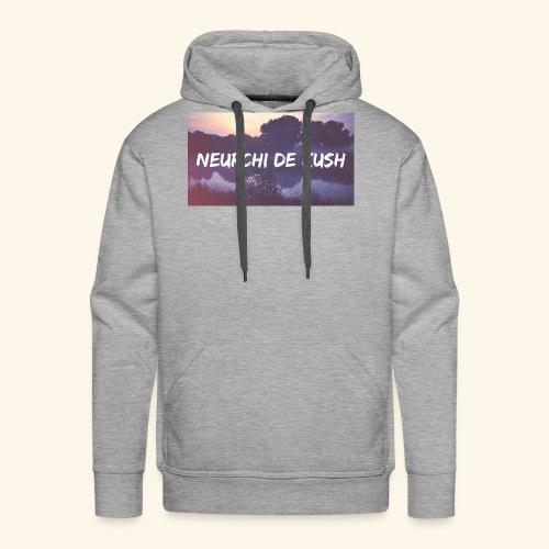 🌼🔥🍁☘️ - Sweat-shirt à capuche Premium pour hommes