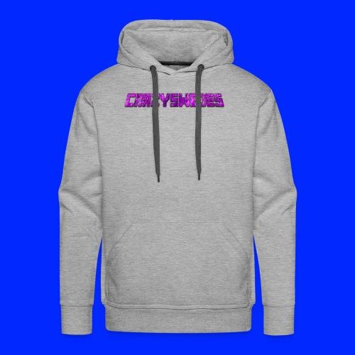 CrazySwedes PurpleThunder - Premiumluvtröja herr