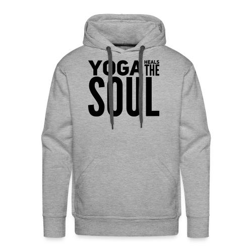 yogalover - Mannen Premium hoodie