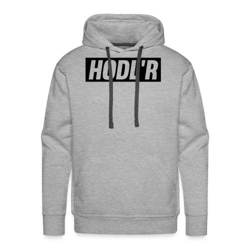 HODL'R - For the real crypto fans - Mannen Premium hoodie