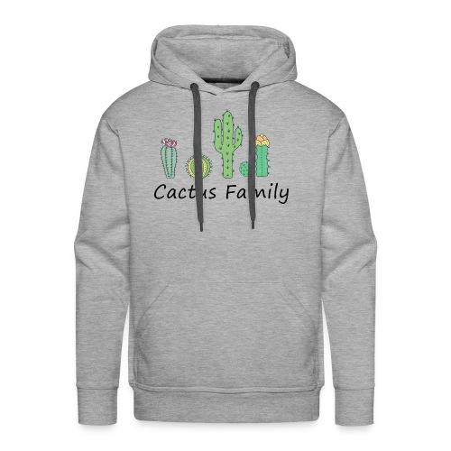 Cactus family - Männer Premium Hoodie