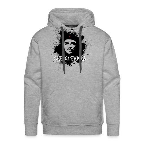 Che Guevara Splatter Männer Langarmshirt - Männer Premium Hoodie