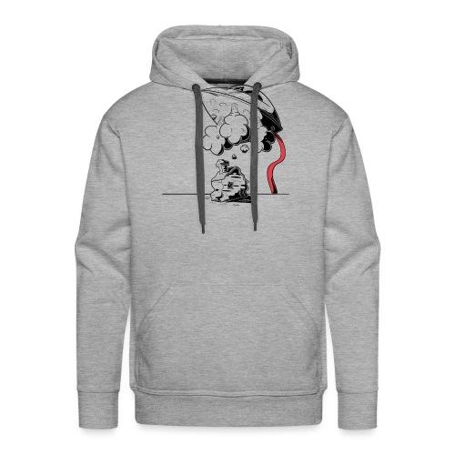 strijkijzer - Sweat-shirt à capuche Premium pour hommes