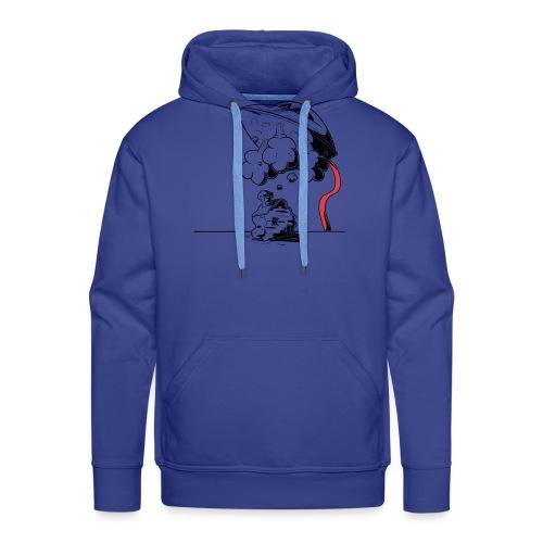 fer - Sweat-shirt à capuche Premium pour hommes