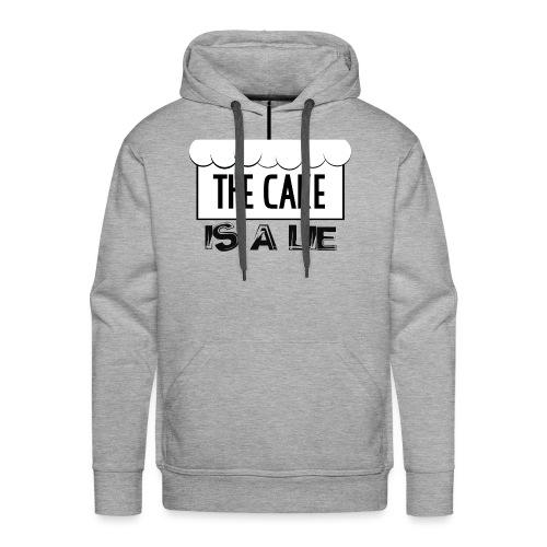 Der Kuchen ist eine Lüge - Männer Premium Hoodie