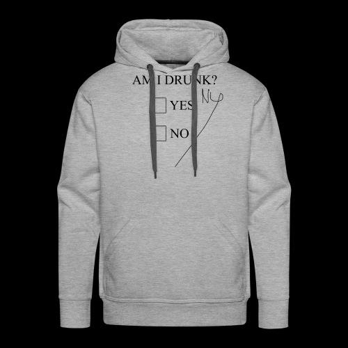 Drunk 11 - Herre Premium hættetrøje