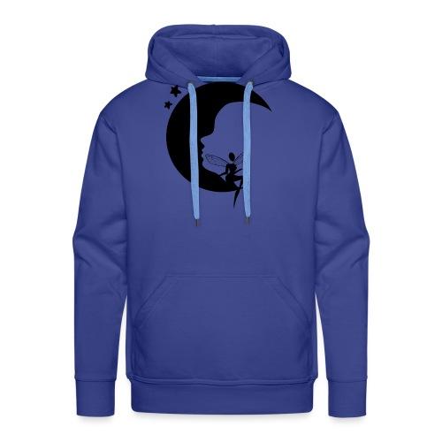 Fée de la Lune - Sweat-shirt à capuche Premium pour hommes