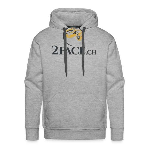 2face.ch - Männer Premium Hoodie