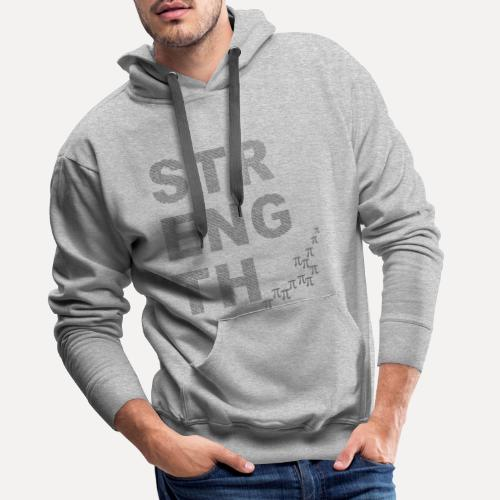 Strength In Numbers - Men's Premium Hoodie