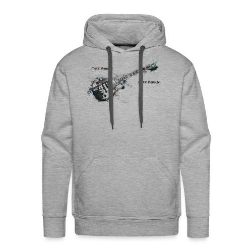 Métal révolte - Sweat-shirt à capuche Premium pour hommes