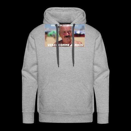 Celestin est devenu...Viril comme jamais - Sweat-shirt à capuche Premium pour hommes