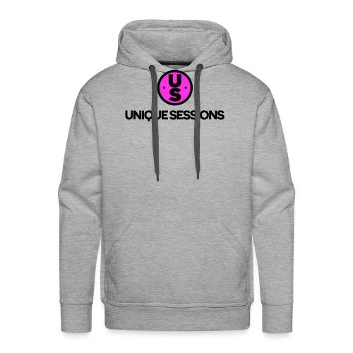 Unique Sessions logo - Men's Premium Hoodie