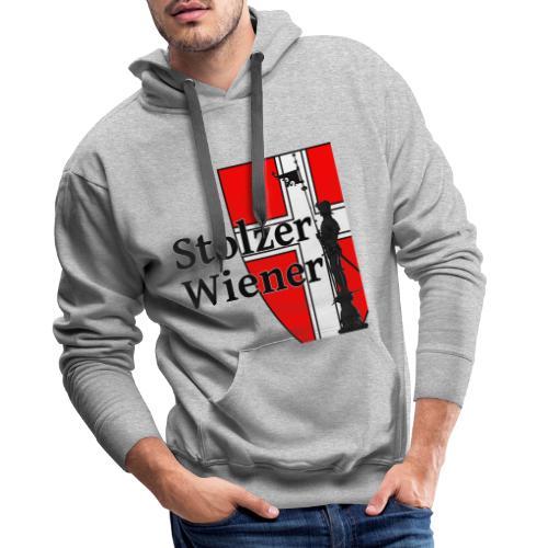Stolzer Wiener - Männer Premium Hoodie
