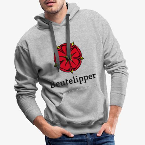 Beutelipper - Lippische Rose - Männer Premium Hoodie