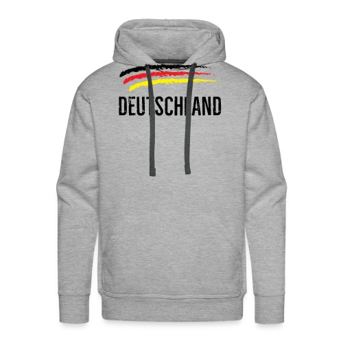 Deutschland, Flag of Germany - Men's Premium Hoodie