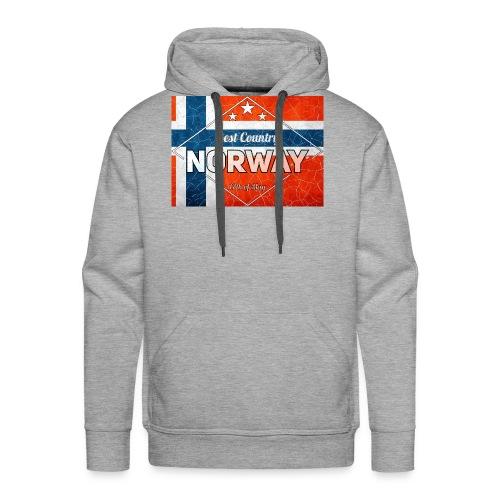 Best Cuntry NORWAY - Men's Premium Hoodie