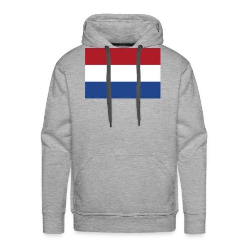 Dutch Flag - Mannen Premium hoodie