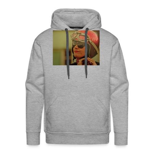 Girl motorbike - Sweat-shirt à capuche Premium pour hommes