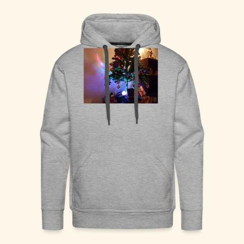 Weihnachten ist schön mit dem Party-Weihnachtsbaum - Männer Premium Hoodie