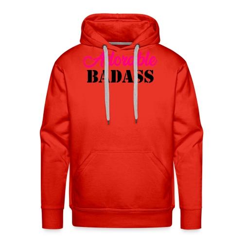 Adorable Badass - Mannen Premium hoodie