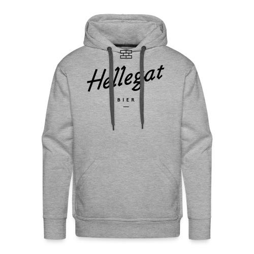 hellegatzonderschaduw bier zwart - Mannen Premium hoodie