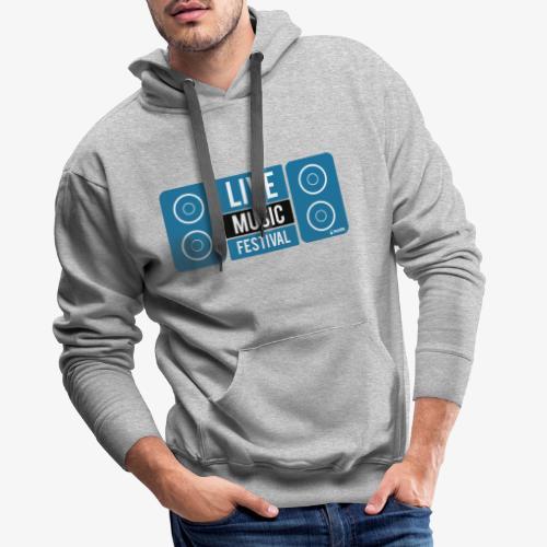 Sound 005 - Sudadera con capucha premium para hombre