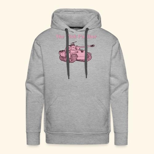 Le panther rose - Sweat-shirt à capuche Premium pour hommes