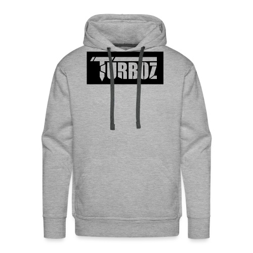 Black Turboz Background - Men's Premium Hoodie