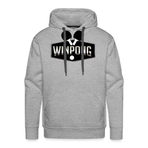 WinPong - Sweat-shirt à capuche Premium pour hommes