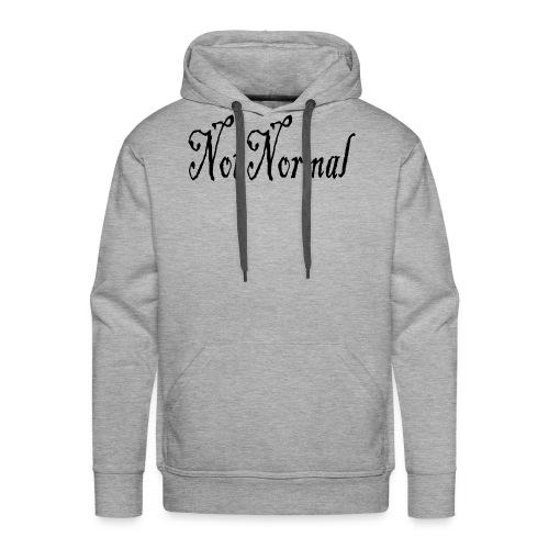 NotNormal - Premium hettegenser for menn