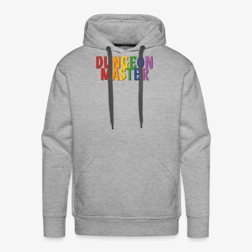 Dungeon Master Pride (Rainbow) - Men's Premium Hoodie