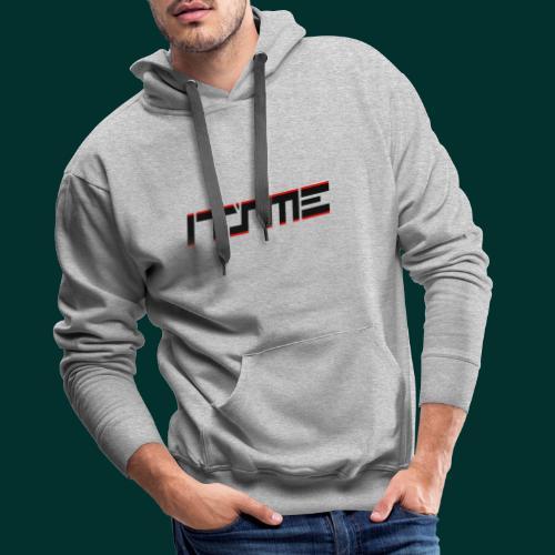 Logo It sME linea - Felpa con cappuccio premium da uomo