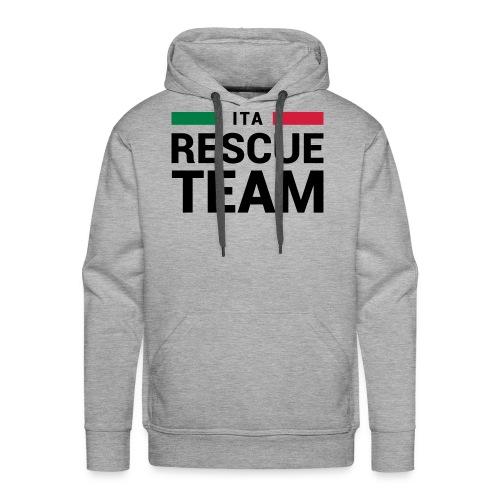 ITA Rescue Team - Felpa con cappuccio premium da uomo