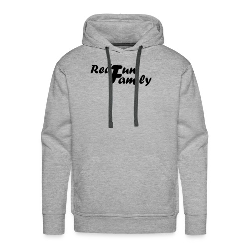 RedfunFamily - Sweat-shirt à capuche Premium pour hommes