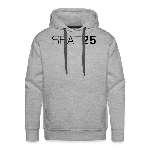 Seat25 Logo Dark - Men's Premium Hoodie