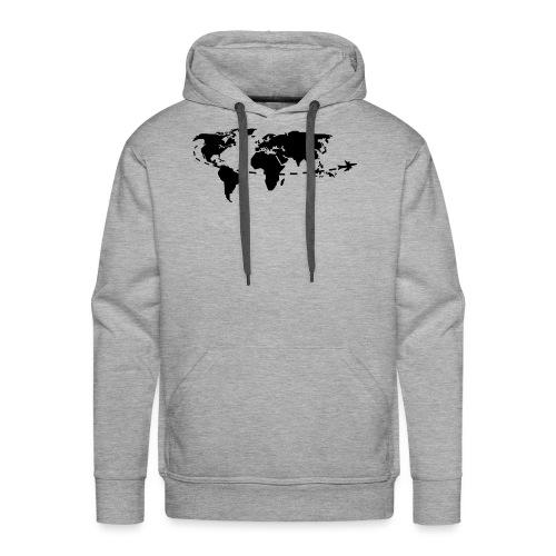 My world - Sweat-shirt à capuche Premium pour hommes