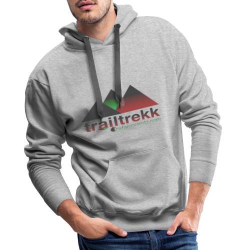 TRAILTREKK - Sudadera con capucha premium para hombre