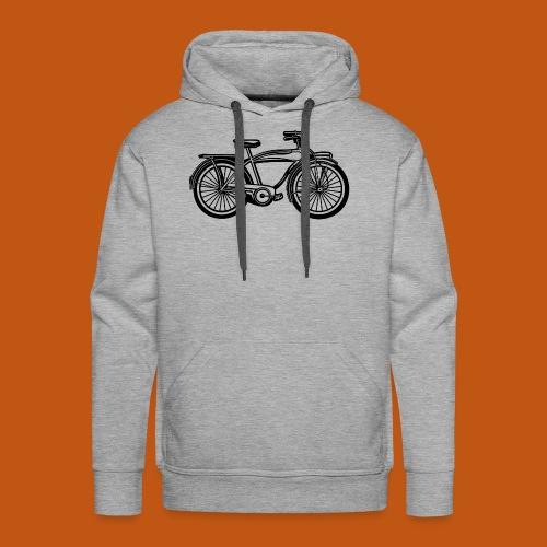 Beach Cruiser Fahrrad 01_schwarz - Männer Premium Hoodie