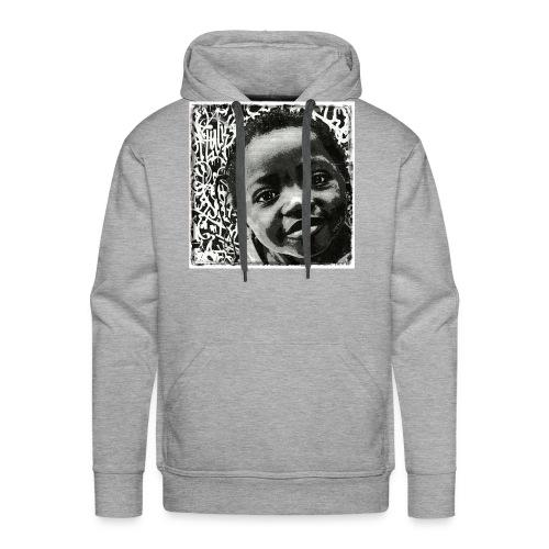 Street Art - Sweat-shirt à capuche Premium pour hommes