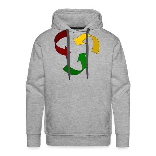 Rastacycle - Sweat-shirt à capuche Premium pour hommes