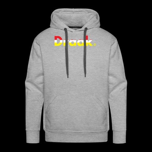 Draak Transparant Design - Mannen Premium hoodie
