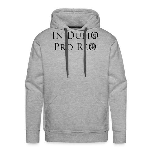 In Dubio pro Reo - Männer Premium Hoodie