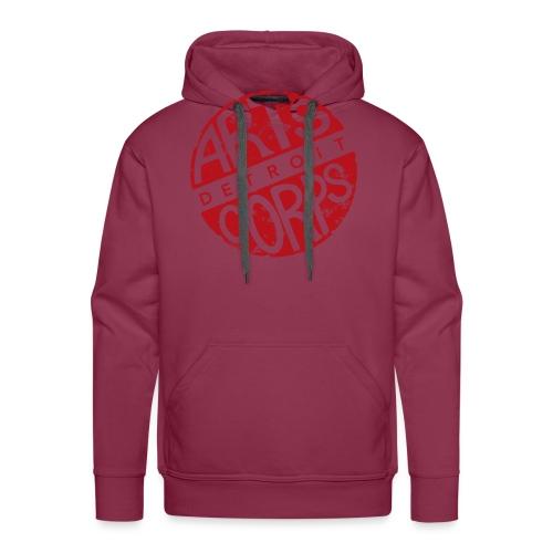 Art Corps Detroit - Sweat-shirt à capuche Premium pour hommes